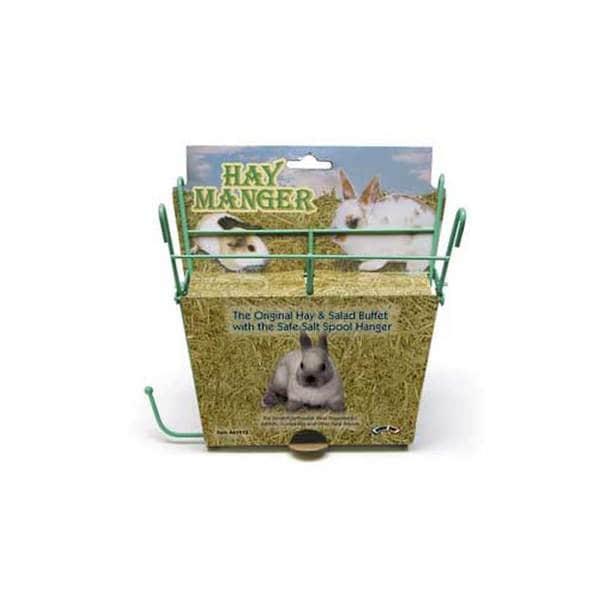 Superpet (Pets International) Hay Manger W/Salt Spool Holder