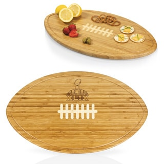 Super Bowl 49 'Kickoff' Bamboo Cutting Board