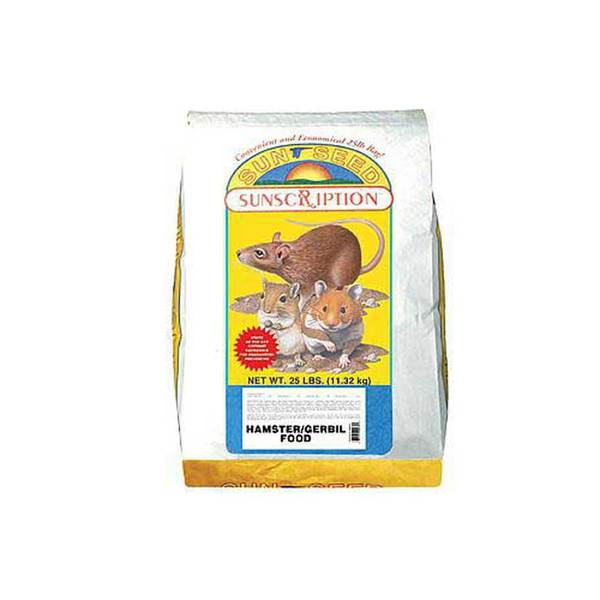 Sun Seed Company Hamster And Gerbil Economy Mix 25Lb