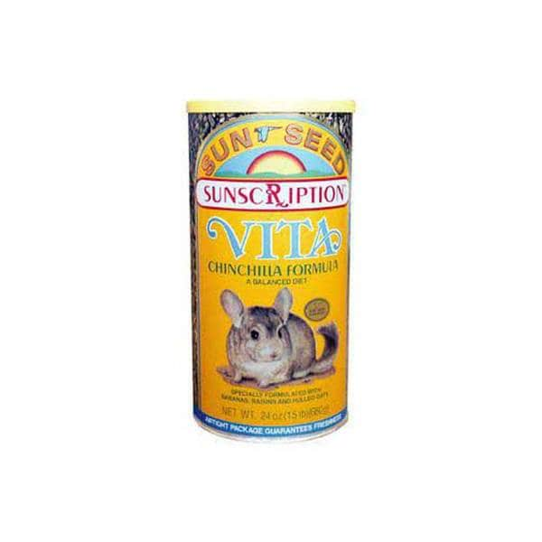 Sun Seed Company Chinchilla Vita - Mix 24Oz (Can)