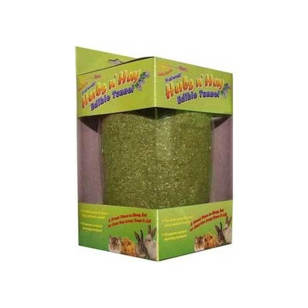 Fm Browns Falfa Cravins Herbs N Hay Edible Tunnel 8-Inch
