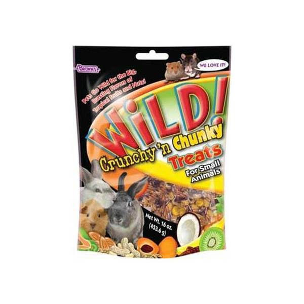 Fm Browns Wild Crunchy & Chunky Treat 16Oz
