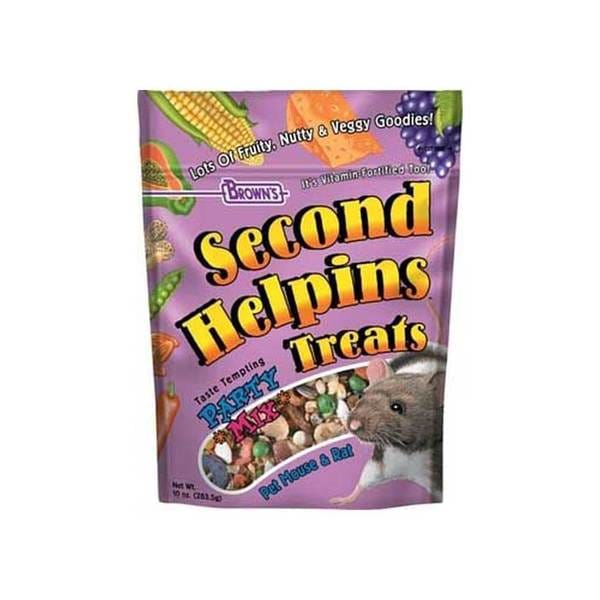 Fm Browns Second Helpins Rat/Mouse Party Mix Trt 10Oz