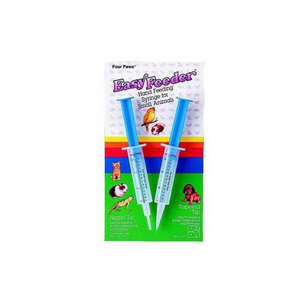 Four Paws Pet Products Easy Feed Syringe Feeder 2Pk