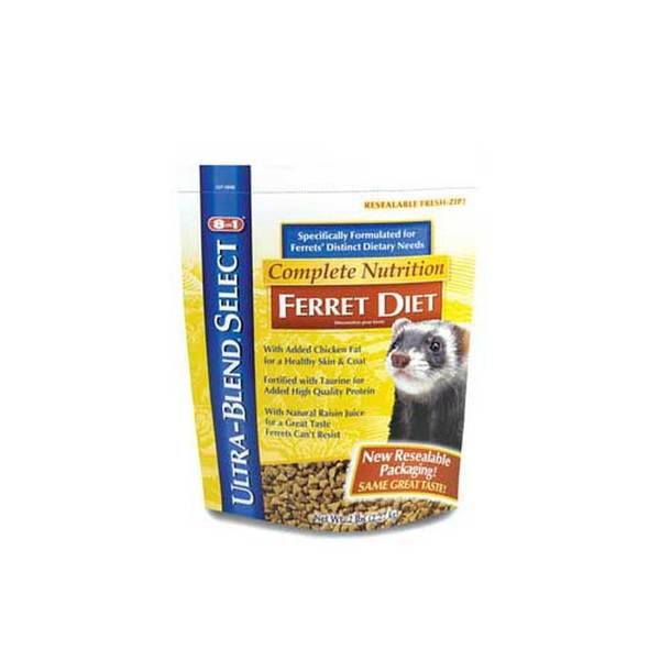 8 In 1 Pet Products Ferret Ultra Blend Diet 2Lb (6Pc)