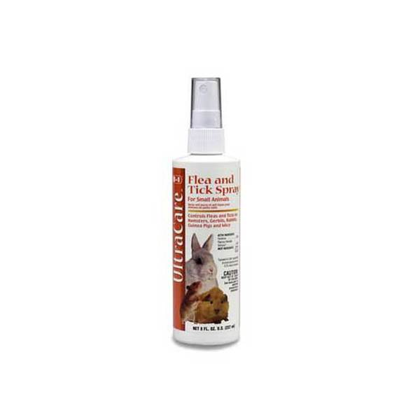 8 In 1 Pet Products Small Animal Flea & Tick Spray 8Oz