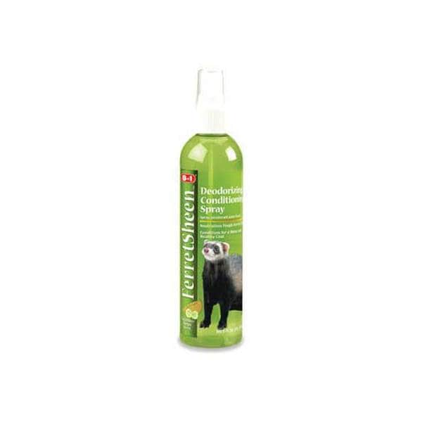 8 In 1 Pet Products Ferret Sheen Deodorizing Spray 8Oz