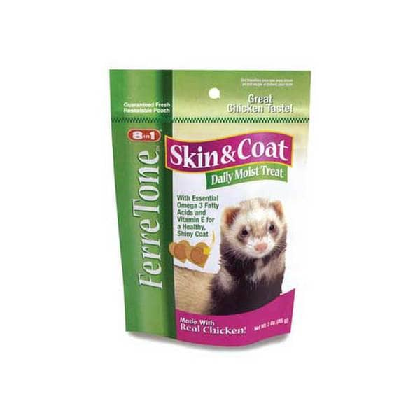 8 In 1 Pet Products Ferretone Treats 3Oz
