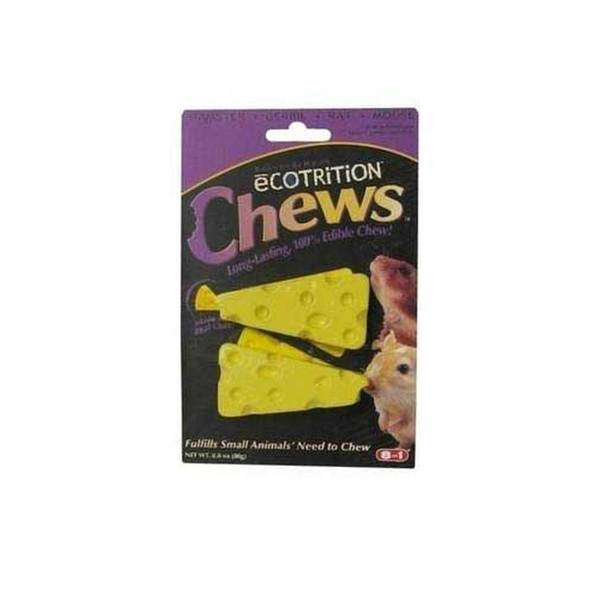 8 In 1 Pet Products Ecotrition Cheesie Chews - 2.5 Oz