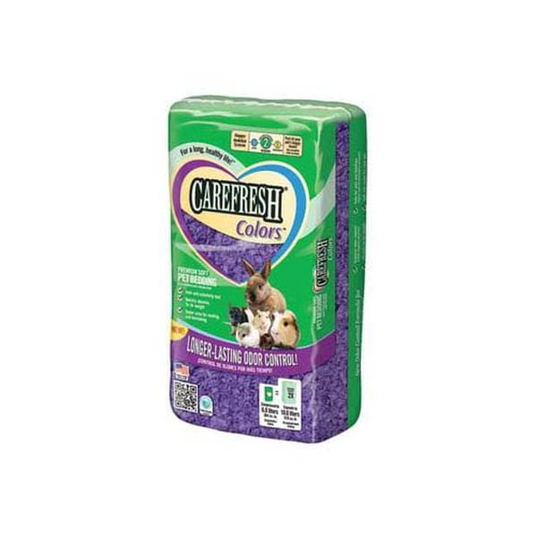 Care Fresh Litter Carefresh Colors Brand Pet Bedding Purple Litter 6Pcs