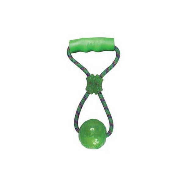 Kong Company Squeezz Ball With Handle Medium