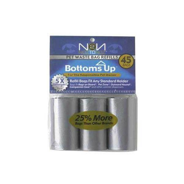 Noztonoz/Firstrax Bottomsup 3 Refill Rolls For Waste Bag Dispenser