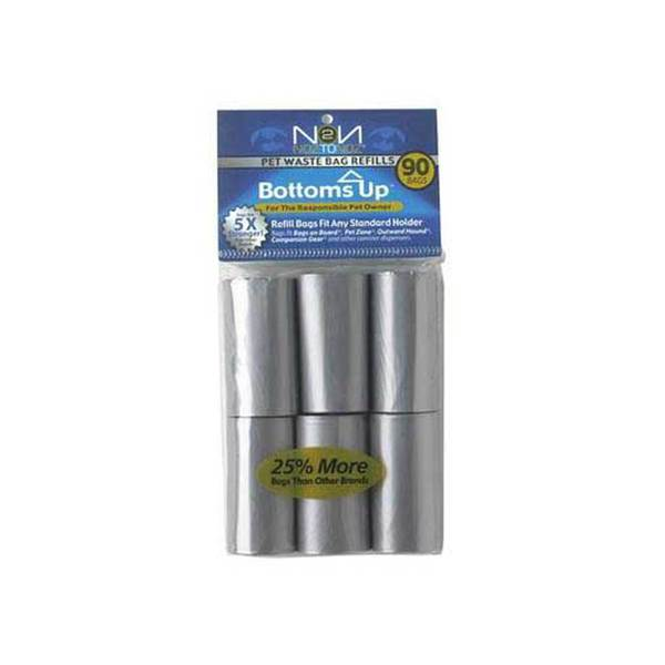 Noztonoz/Firstrax Bottomsup 6 Refill Rolls For Waste Bag Dispenser