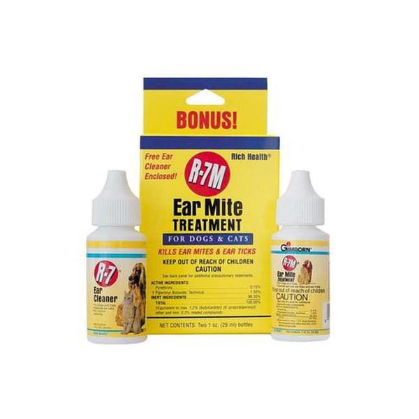 Rich Health R - 7 Professional Ear Mite Treatment Kit