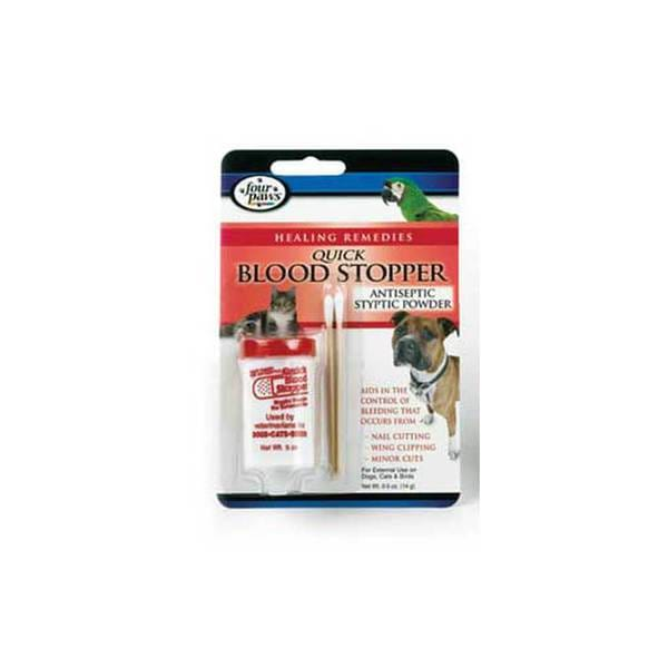 Four Paws Pet Products Blood Stop Powder 1/2Oz
