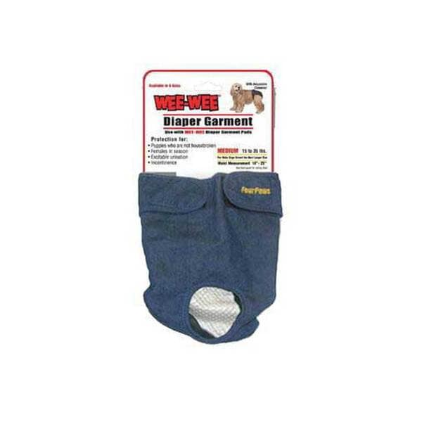 Four Paws Pet Products Wee Wee Diaper Garment Medium