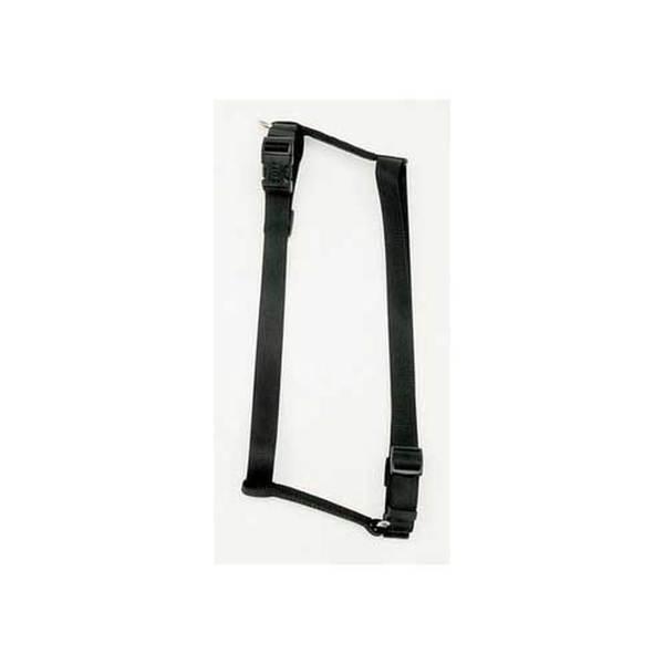 Coastal Pet Products C Nyl Adjustable Harness 3/8-Inch Xs - Black