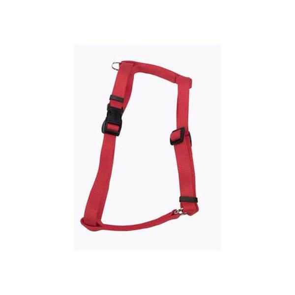 Coastal Pet Products C Nyl Adjustable Harness 3/8-Inch Xs - Red