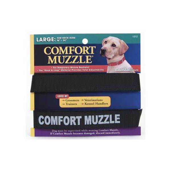 Coastal Pet Products C Velcro Comfort Muzzle Large