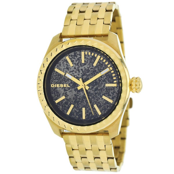 Diesel Women's DZ5405 Kray Kray Round Gold-Plated Bracelet Watch