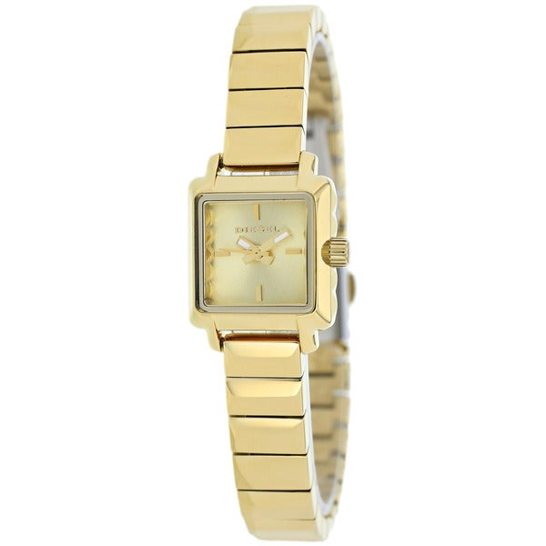 Diesel Women's DZ5424 Ursula Square Goldtone Bracelet Watch