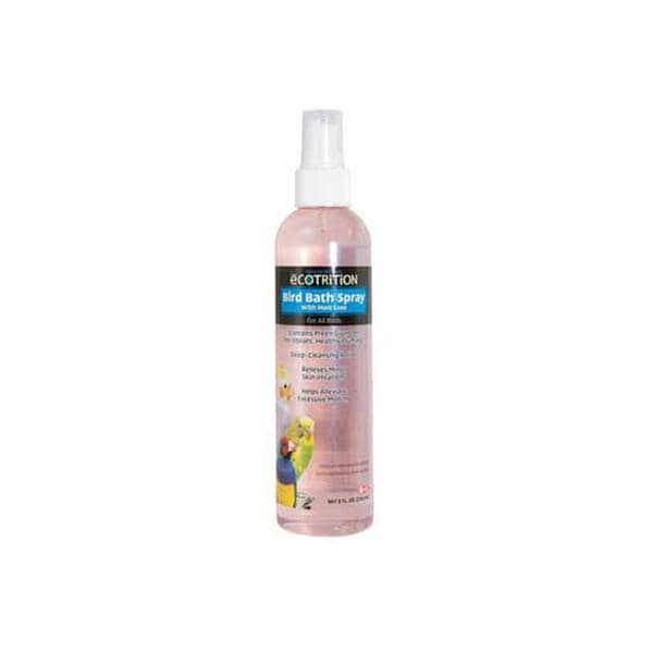 8 In 1 Pet Products Ecotrition Bird Bath Spray 8Oz