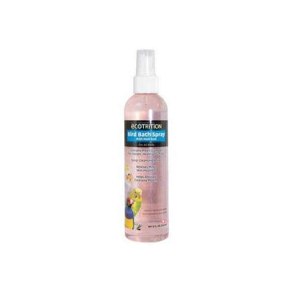 8 In 1 Pet Products Ecotrition Bird Bath Spray 8Oz