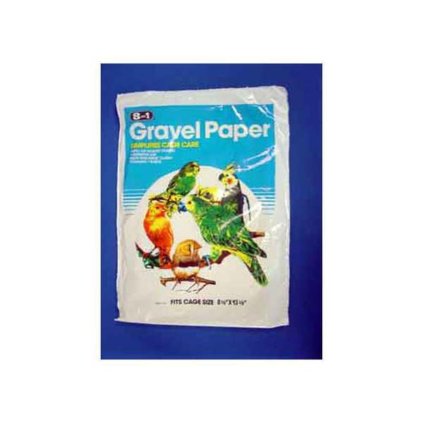 8 In 1 Pet Products Gravel Paper 8-Inch X 13-Inch
