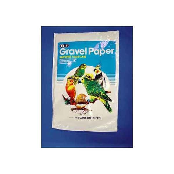 8 In 1 Pet Products Gravel Paper 9-Inch X 15-Inch