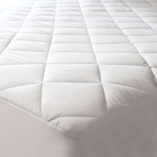 Sealy Posturepedic 300 Thread Count Egyptian Cotton Waterproof Pad (As Is Item)