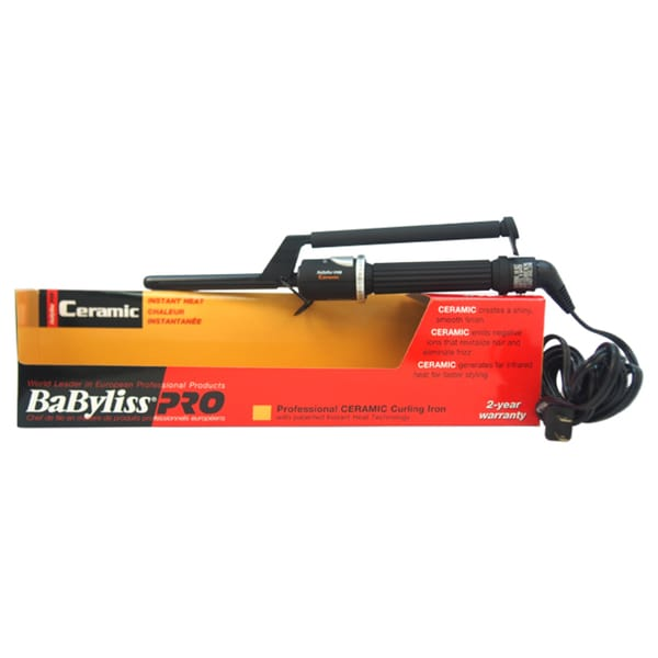 BaByliss Pro Professional Ceramic 1.5-inch Curling Iron (As Is Item)