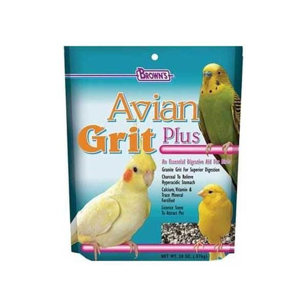 Fm Browns Avian Grit Premium Bird Gravel 20Oz