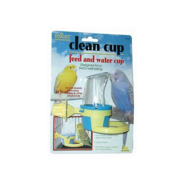 Jw Pet Company Insight Clean Cup Hooded Cup Small