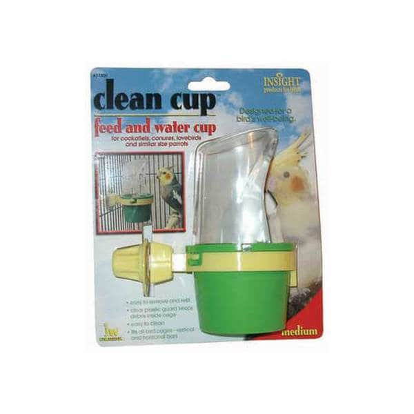 Jw Pet Company Insight Clean Cup Hooded Cup Medium
