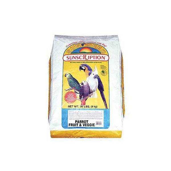 Sun Seed Company Parrot Fruit & Veggie 25Lb