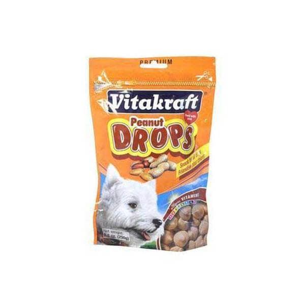 Vitakraft Peanut Drops 8.8Oz (Pouch)