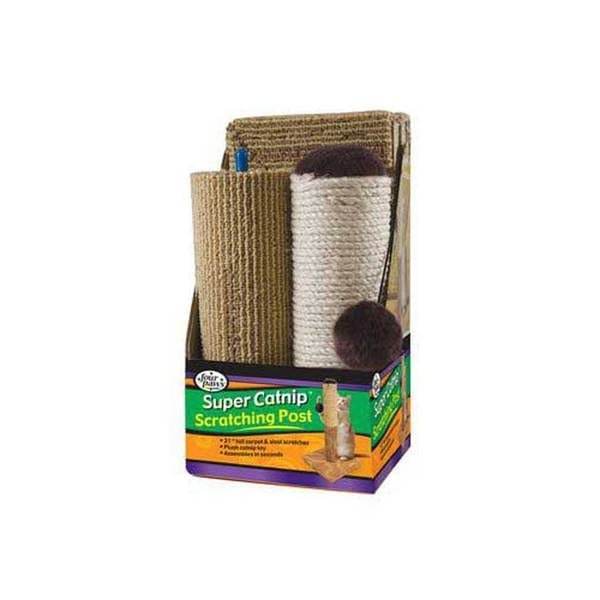 Four Paws Pet Products Scratching Post With Catnip 20-Inch
