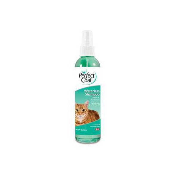 8 In 1 Pet Products Perfect Coat Waterless Shampoo For Cats 8 Oz