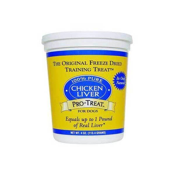 Gimborn Products Pro - Treat Freeze Dried Chicken Liver 4Oz