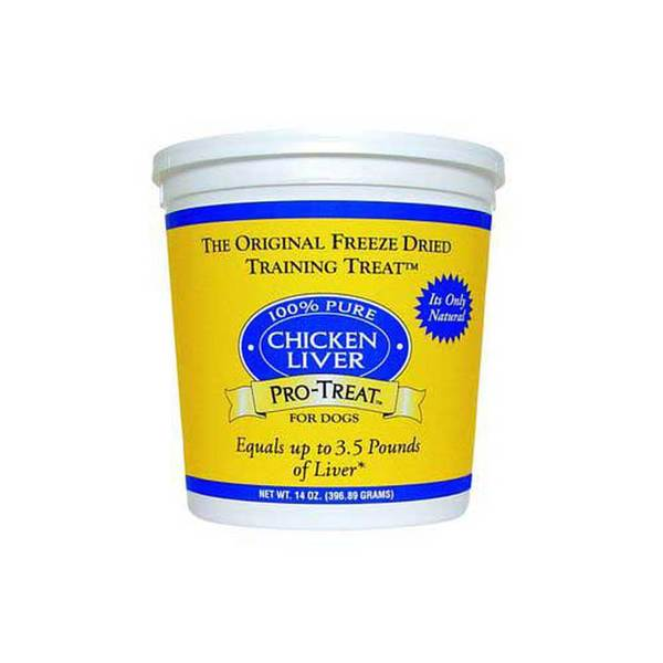Gimborn Products Pro - Treat Freeze Dried Chicken Liver 14Oz