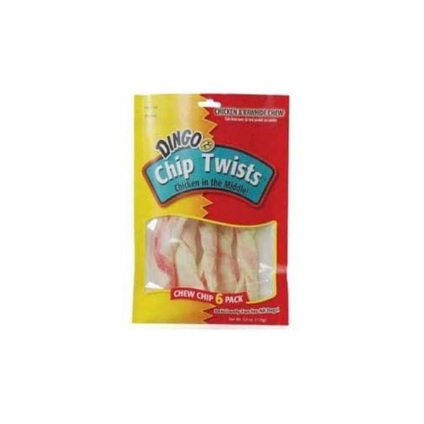 Dingo Brand Dingo Chip Twists 6 Pack