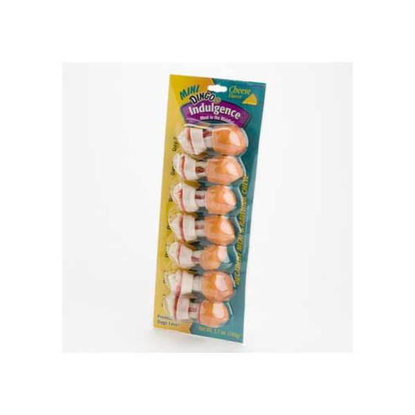 Dingo Brand Indulgence Mini - Cheese 7Pk - 3.75 Oz