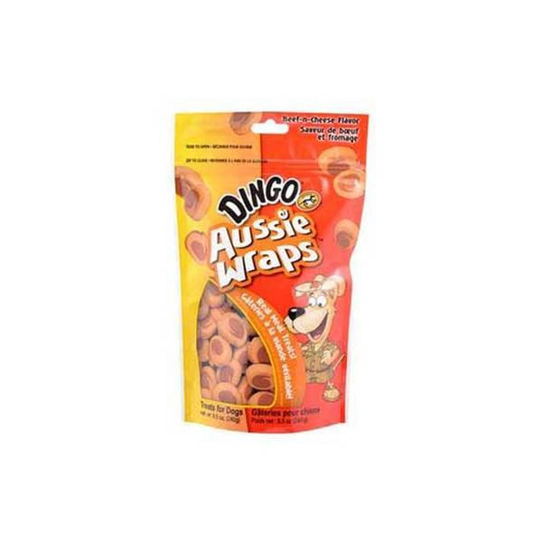 Dingo Brand Aussie Wraps - Beef & Cheese - 8.5 Oz