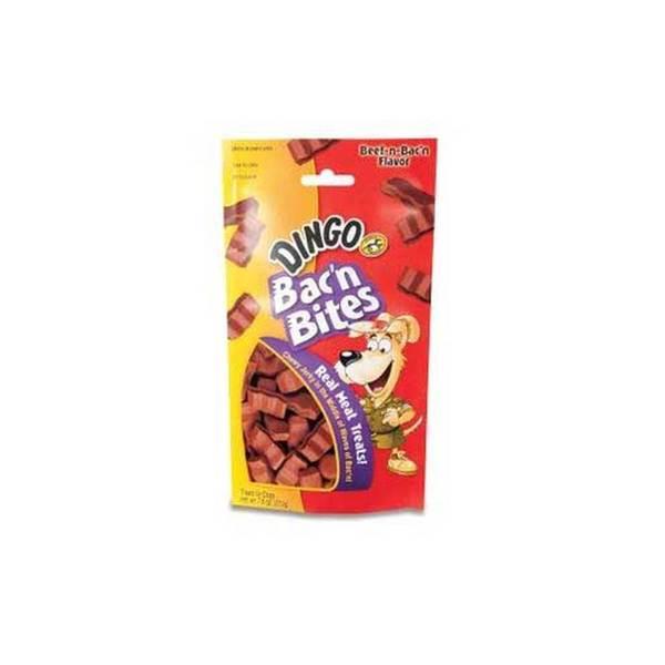 Dingo Brand Dingo Bac'N Bites Beef/Bacon 7.5 Oz Pouch