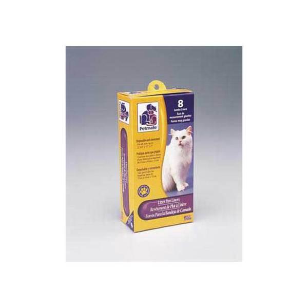 Dosckocil (Petmate) Litter Pan Liners Jumbo 8Ct