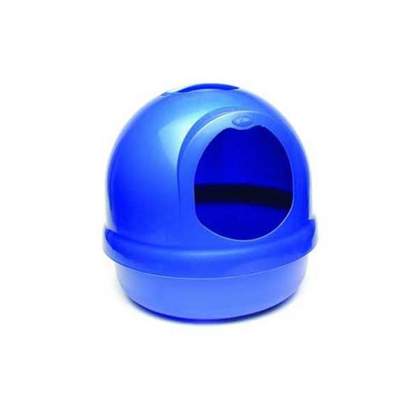 Dosckocil (Petmate) Booda Dome Litter Pan Pearl Blue