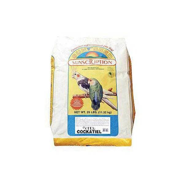 Sun Seed Company Cockatiel Vita - Mix 25Lb