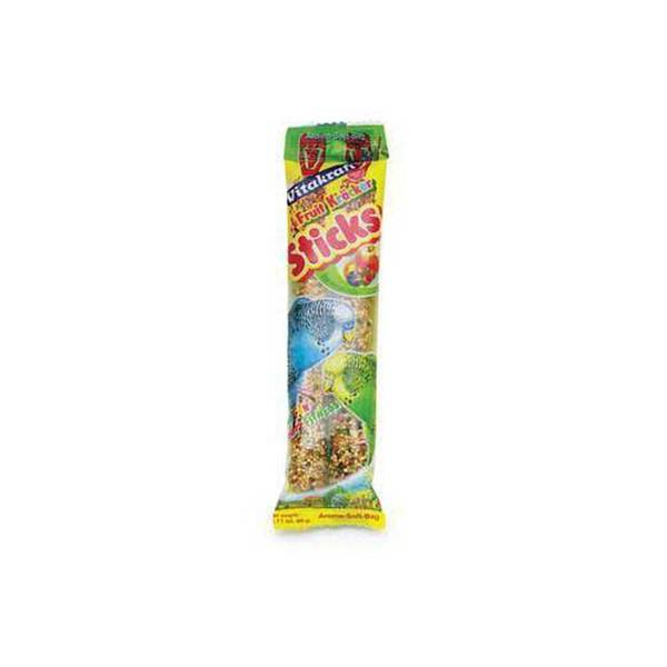 Vitakraft Parakeet Fruit Stix 2Pk See - Through Packaging
