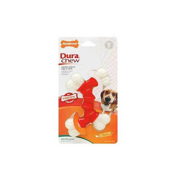 Tfh/Nylabone Dura Chew Double Bone Bacon Wolf