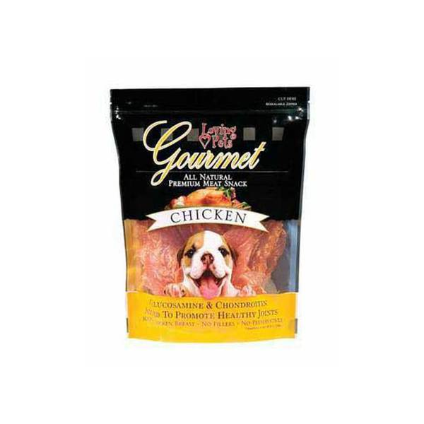 Loving Pets Gourmet All Natural Meat Snack Chicken 1Lb